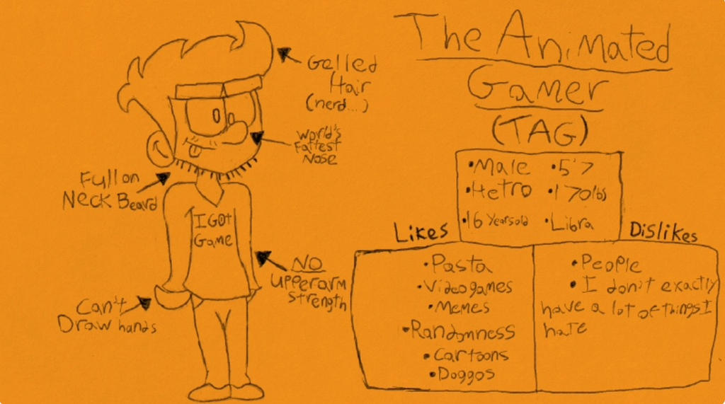 Meet the artist that no one really cares about by TheAnimatedGamer64