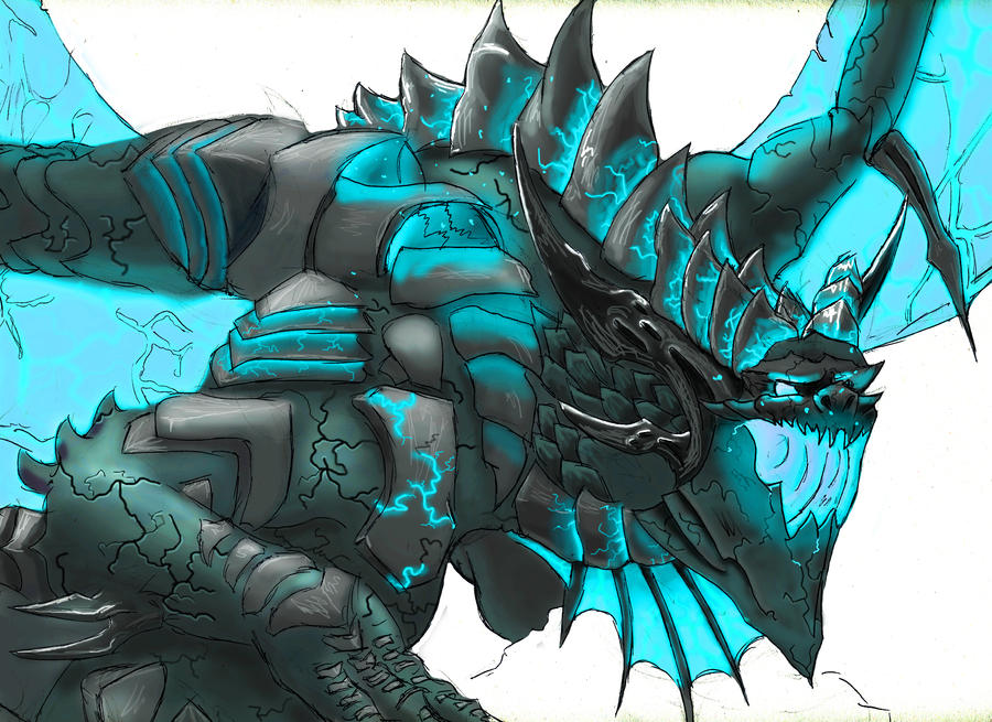 Blue Dragon by DodgeMecha