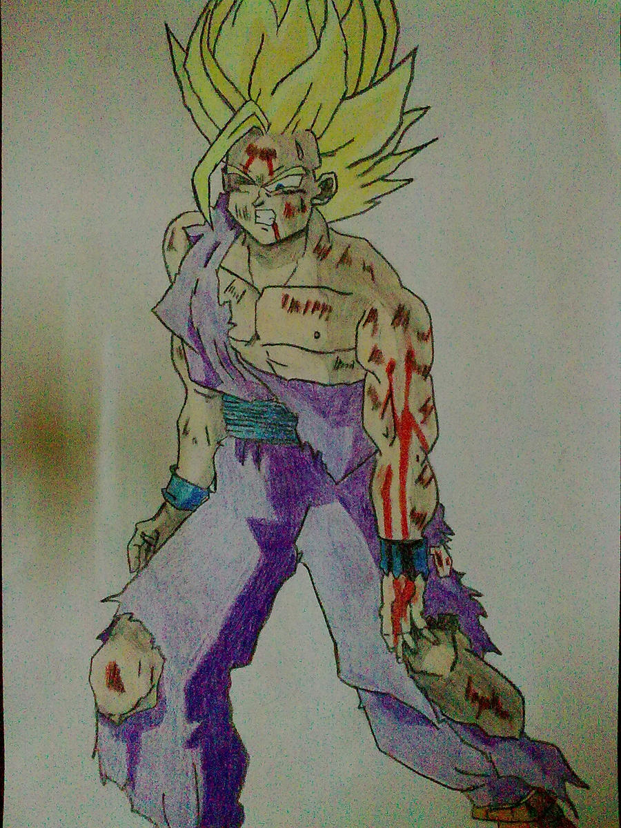 Gohan Tattoo Designs Gohan ssj2 by DBZdrawingSTANIC