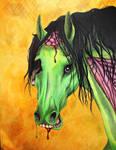 Zombie Horse: Happy Halloween