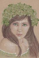 Ivy Princess - sketch by MayumiOgihara