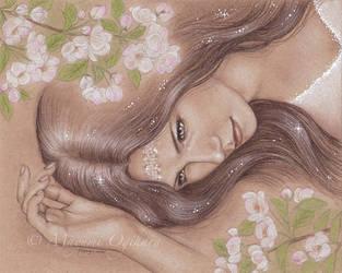 Awakening of Spring Goddess by MayumiOgihara