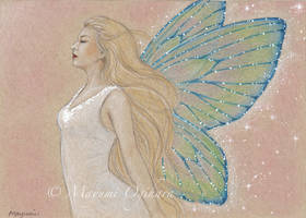 Enchanting Wings - sketch by MayumiOgihara