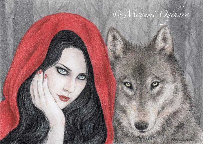 Dark Fairy Tale: Red Riding Hood by MayumiOgihara