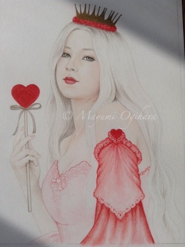 Queen of Hearts - WIP by MayumiOgihara