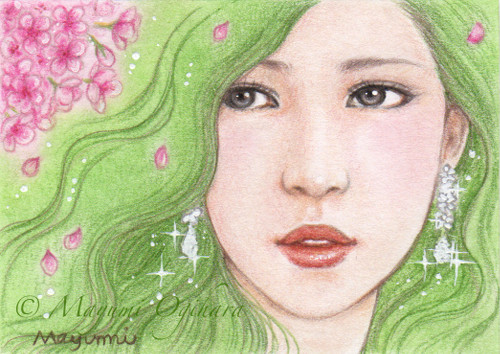 Gemstone: Diamond (ACEO) by MayumiOgihara