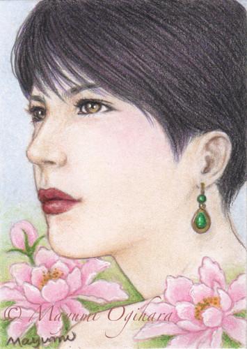 Gemstone Emerald (ACEO) by MayumiOgihara