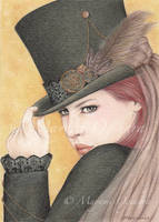 Steampunk Melancholia by MayumiOgihara