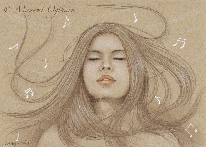 Music in the Wind - sketch by MayumiOgihara