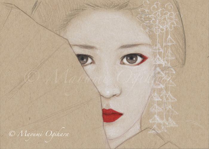 Gazing Into Your Eyes - sketch WIP by MayumiOgihara