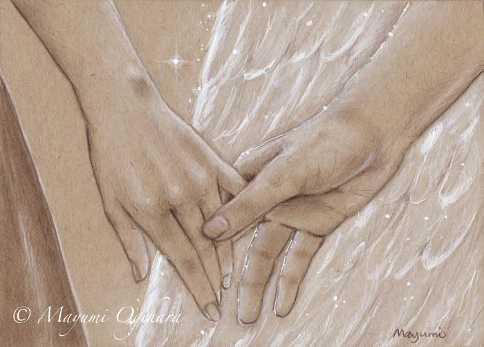 Anangel By My Side - sektch by MayumiOgihara