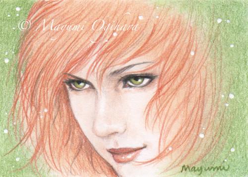 Bronze Beauty (ACEO) - sketch by MayumiOgihara