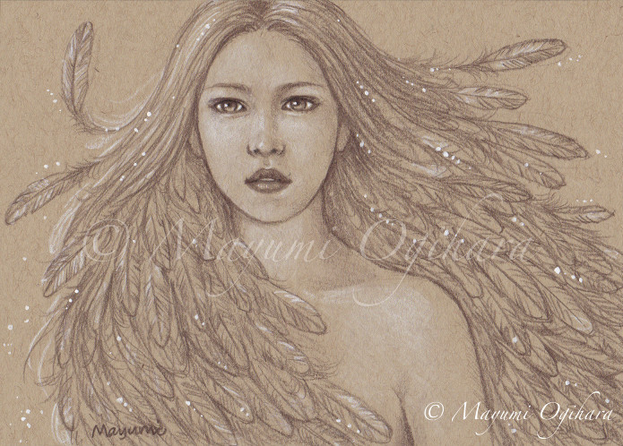 Bird of Beauty - sketch by MayumiOgihara