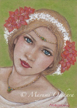Summer Goddess (ACEO)