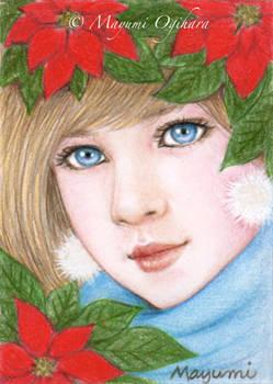 Poinsettia (ACEO)