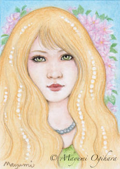 Gemstone: Pearl (ACEO)
