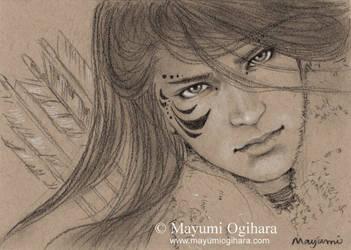 The Wild Hunt - sketch by MayumiOgihara