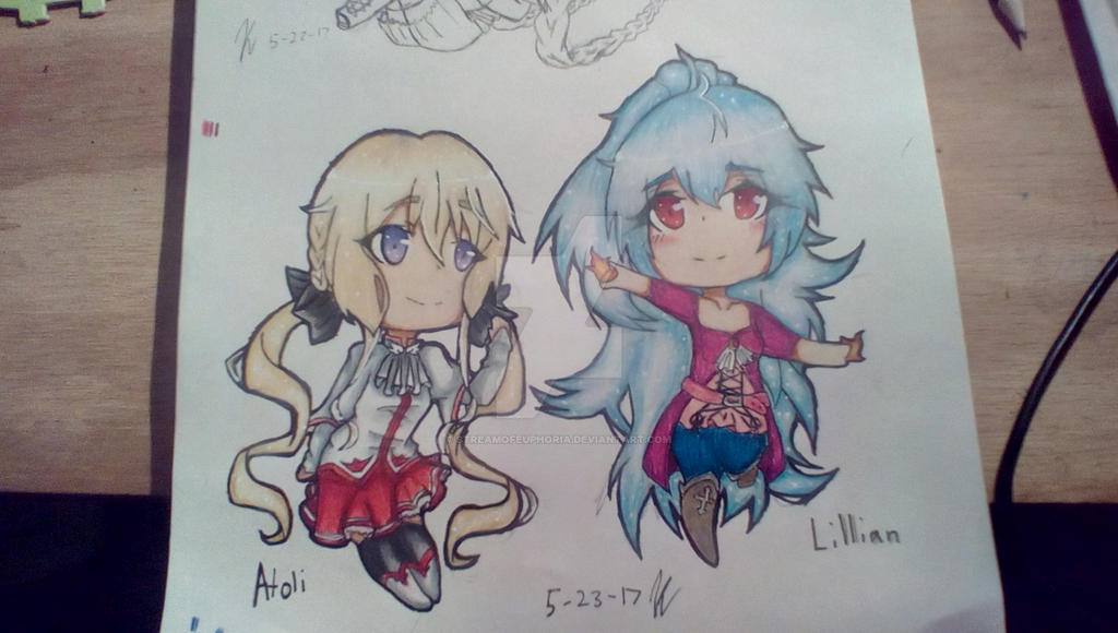Atoli (Tor fanart) Lillian (ftoc) finished by LuluLuvsAnime