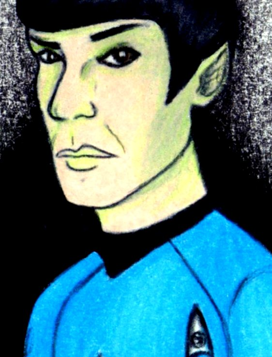 SPOCK by harrimaniac27