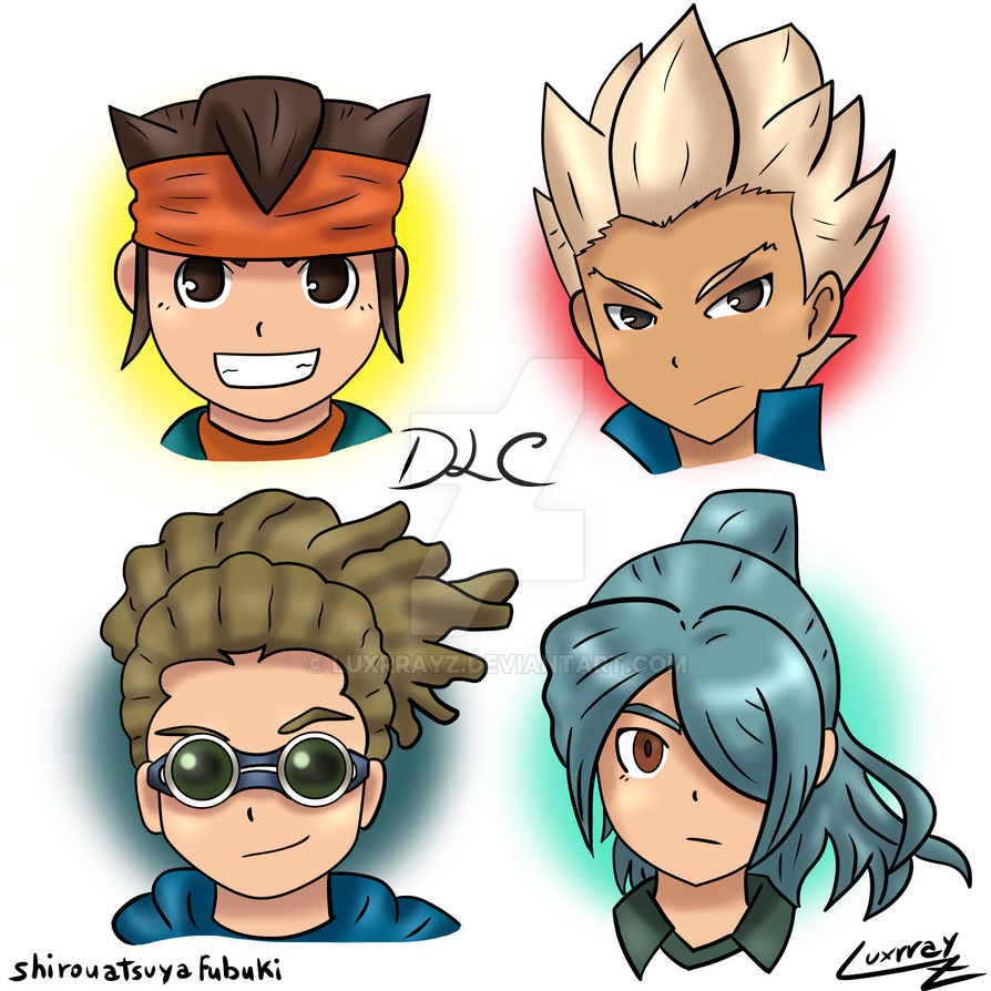 Inazuma Eleven Ares Characters: Part 3 by Luxrrayz on DeviantArt