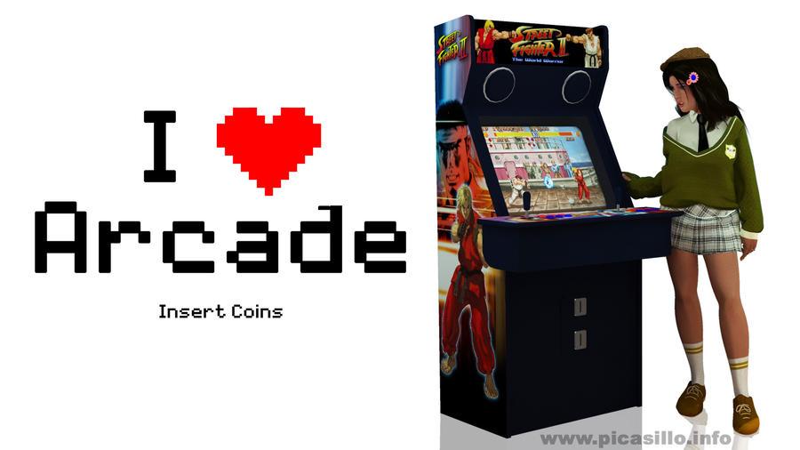I love arcade by PICASILLO