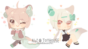 [P] Experimental chibis by Rhaeiny