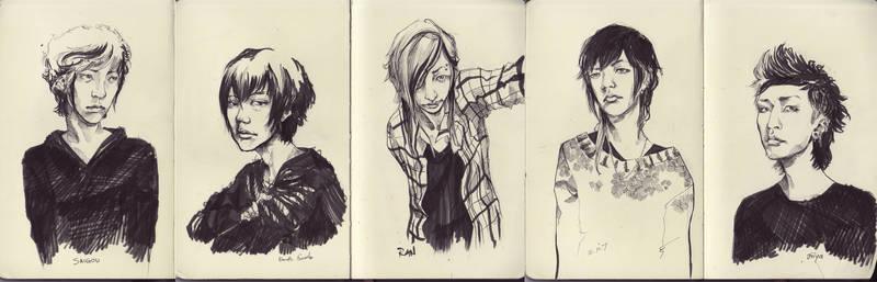 N E S S U N N O M E: Portraits