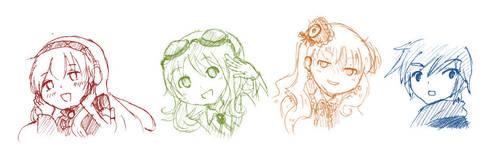 Some Vocaloids by nanami-miyu