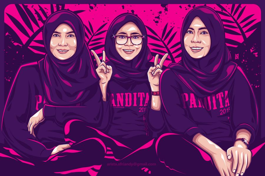 PANDITA Pink by AristAF