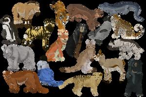 Animals by Silvixen