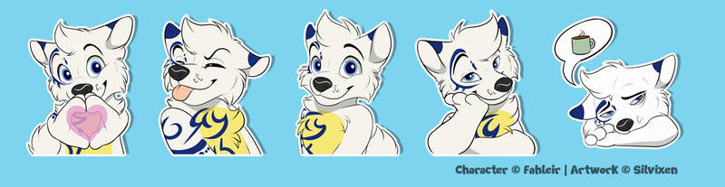 Ulric Character Pack - Stickers