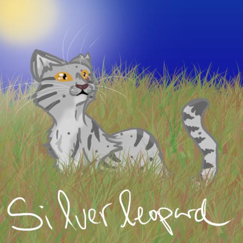 Silverleopard by TangledInInk
