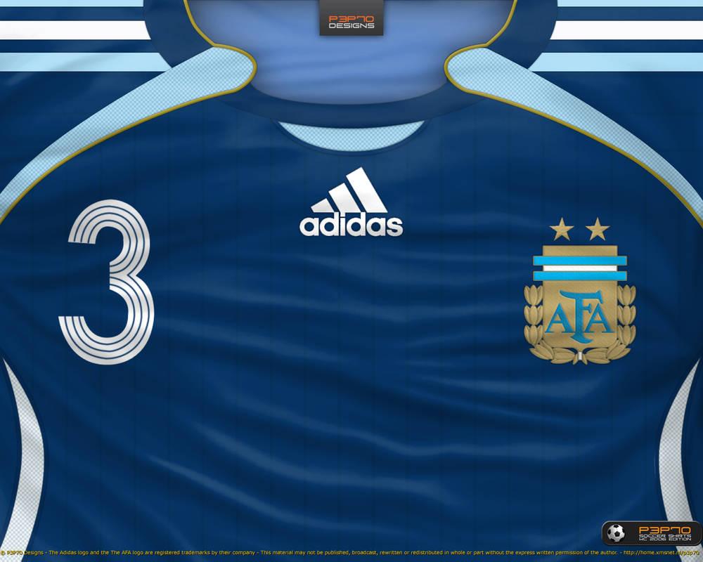 13ce3d842 Argentina away shirt 2006 by P3P70 on DeviantArt