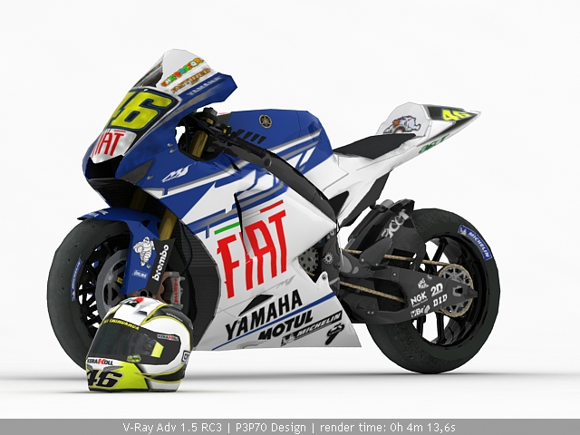 Rossi Bike By P3p70 On Deviantart