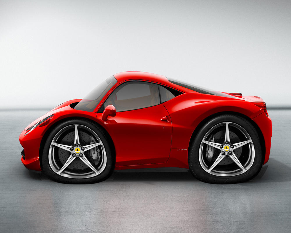 Car-Toon New Ferrari