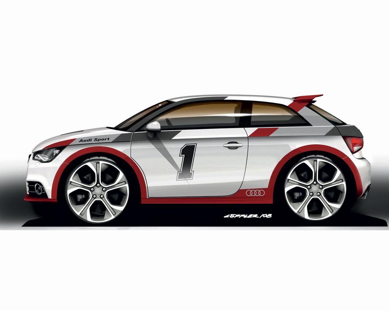 car toon audi a1 sport by p3p70 on deviantart. Black Bedroom Furniture Sets. Home Design Ideas