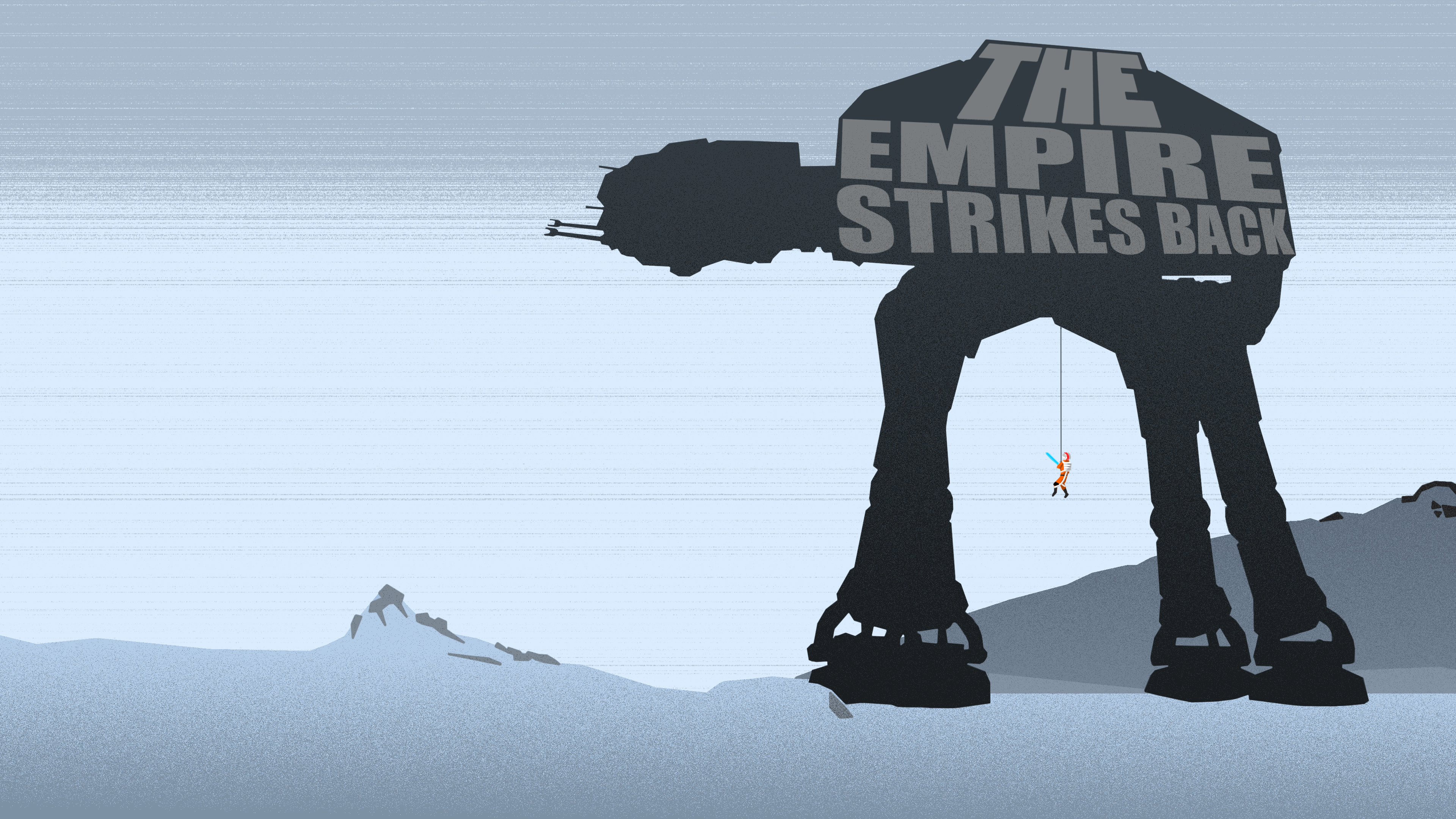 The Empire Strikes Back Wallpaper [Text] By Zim1112 On