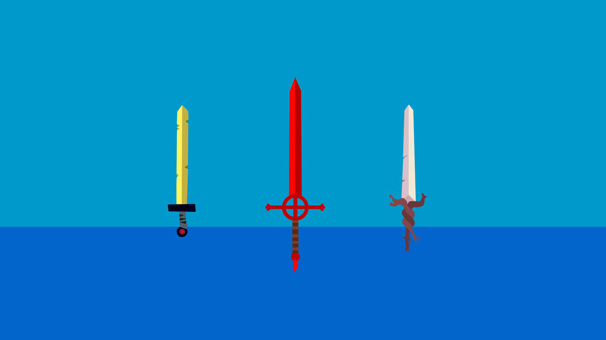 Adventure Time Swords by Zim1112
