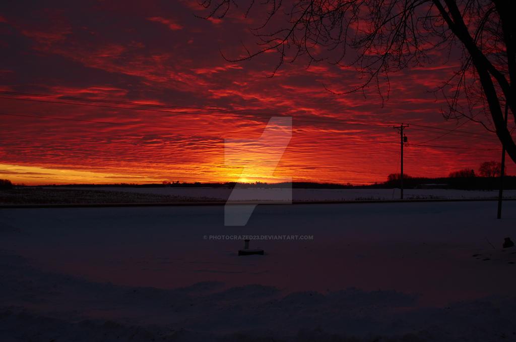 Burning Sky by photocrazed23