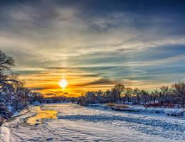 Another Platte Sunset by DeTea