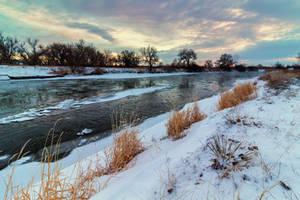 Sunrise On The Platte by DeTea