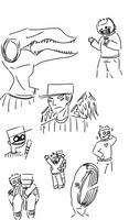 OFF Doodles by 0oK3V1No0