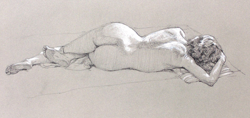 reclining figure by postapocalypsia