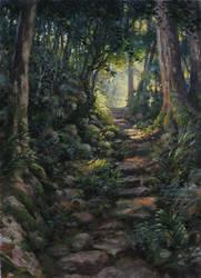 Into the light by postapocalypsia