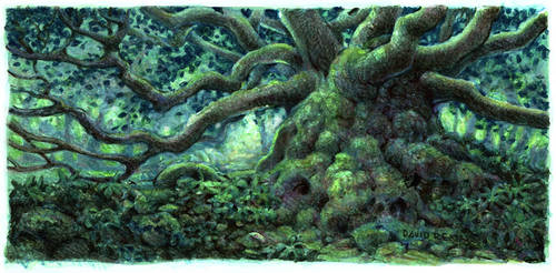 treehouse idea by postapocalypsia