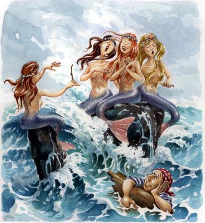 The Sirens by postapocalypsia