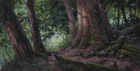 Forest by postapocalypsia