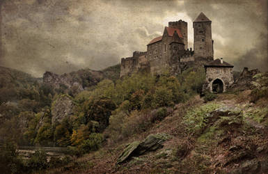 Old Castle by postapocalypsia