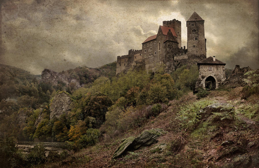 Old Castle by postapocalypsia on DeviantArt