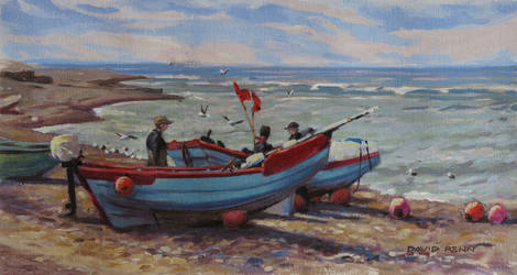 Fishing Boats, Klitmoller